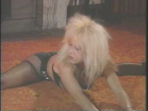 Linnea Quigley Works Out