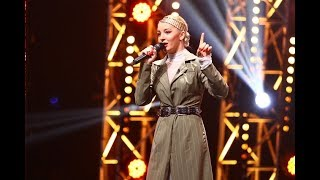"Beyonce - &quotIf I Were A Boy"". Vezi interpretarea Katarinei Biehu, la X Factor!"