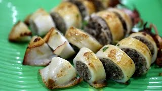 Video STUFFED SQUID RECIPE- MỰC NHỒI THỊT download MP3, 3GP, MP4, WEBM, AVI, FLV April 2018