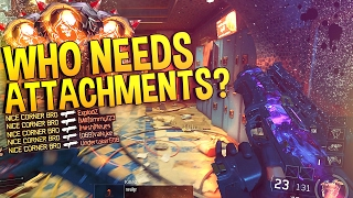 NO ATTACHMENT NUCLEAR! ☠️ - Fighting against THE RECOIL! (Black Ops 3 PC Multiplayer)