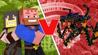 Minecraft Beast Battle ★ JUMPY BUG (Orespawn Mod) - Dumb and Dumber