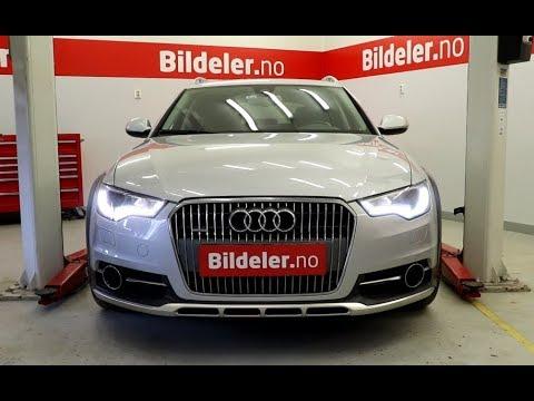 Audi A6 / A6 Allroad: Hvordan bytte bremser bak (elektronisk parkbrems) 2012 til 2018 mod. (4G)