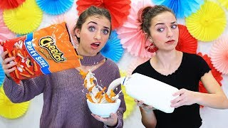Would You Try These Weird Food Combinations?!? | Brooklyn and Bailey