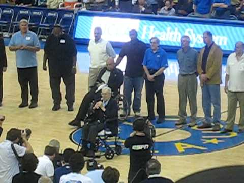 UCLA 1965 Championship Basketball Team Honored & Coach Wooden\'s speech