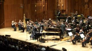 Chilly Gonzales with BBC Symphony Orchestra @ Barbican, London [Grand Finale with crowd surfing]