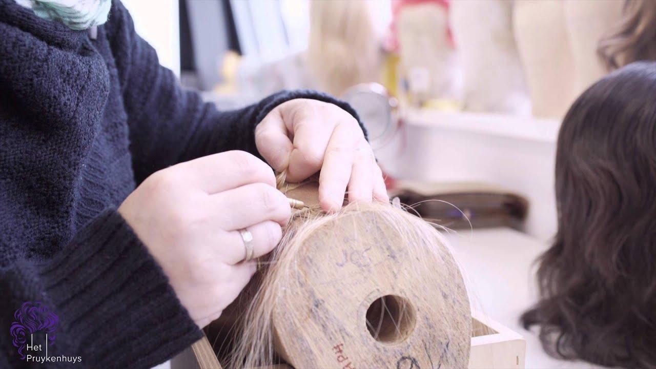 Verwonderend Het maken van een haarwerk van echt haar | Atelier het Pruykenhuys LV-78