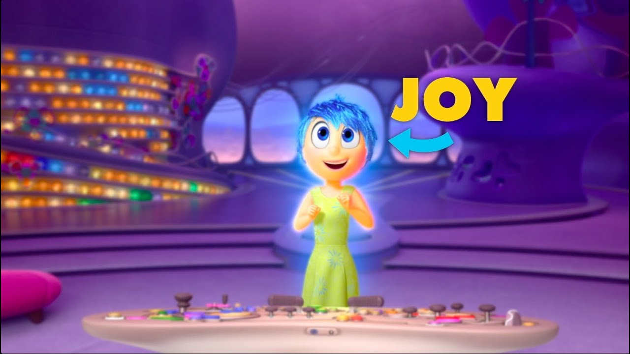 Get To Know Your Inside Out Emotions Joy Youtube