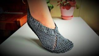 Pletene zepe - pape ili popke (Knitted slippers)