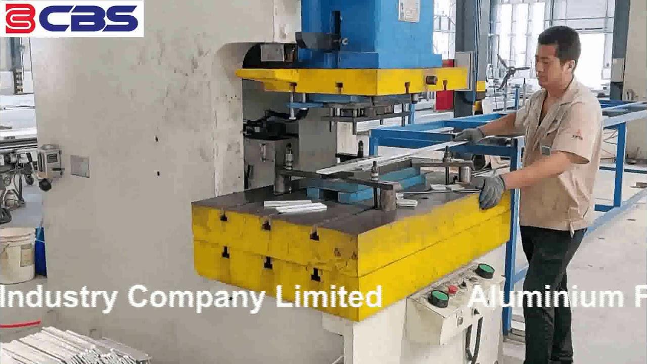 Aluminium Formwork Punching Machine