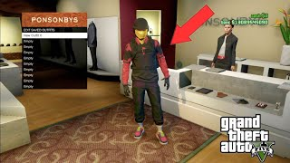 GTA 5 Online Modded Outfit Glitch Male