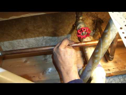 Greg Zanis On The Job Shows How To Solder Copper Pipe Joints - Soldering Pipe - Pipe Dream