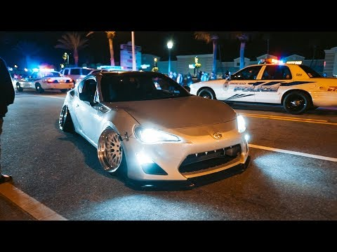 Japanese Stance Cars Take Over Streets Of Florida