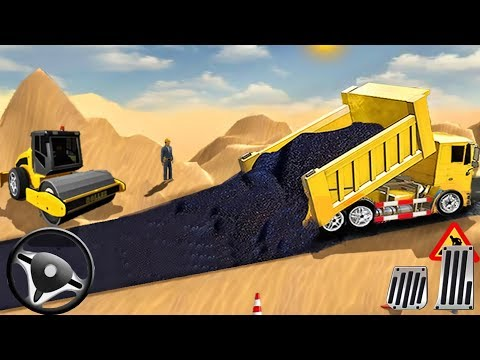 Build City Road - Long Highway Construction Sim | Android GamePlay