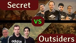 Secret vs Outsiders Rise to Glory Final Showmatch | Casted by NOVA
