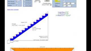 Stair Calculator - Full Plans