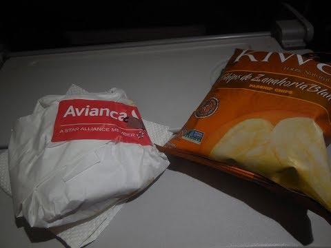 Fly Avianca Economy A320 Bogota-Panama City