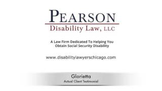 Pearson Disability Law, LLC Video - Chicago Disability Lawyer Testimonial | Illinois Social Security Attorney