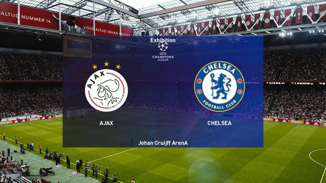 Pes 2020 Ajax Vs Chelsea Champions League