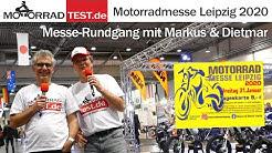 Motorradmesse Leipzig 2020 | Messe-Rundgang mit den neuen Motorrädern 2020