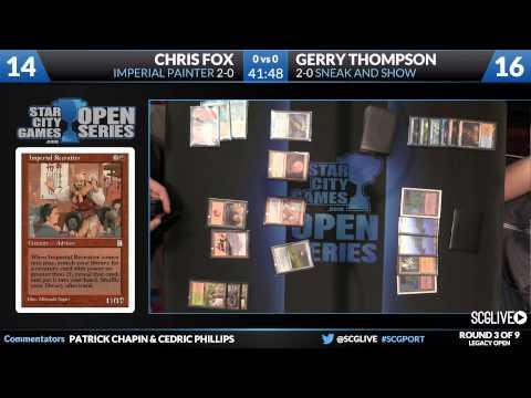 SCGPORT - Legacy - Round 3 - Gerry Thompson vs Chris Fox [Magic: the Gathering]