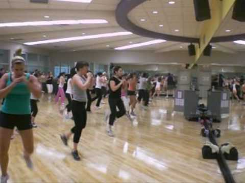 Marco's LA Fitness Kickboxing Class - YouTube