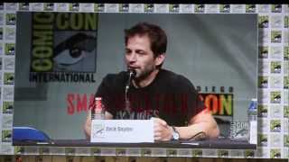[HD] Man of Steel Part 1 of 2 Comic Con 2012 Panel SDCC HALL H 07/14/2012