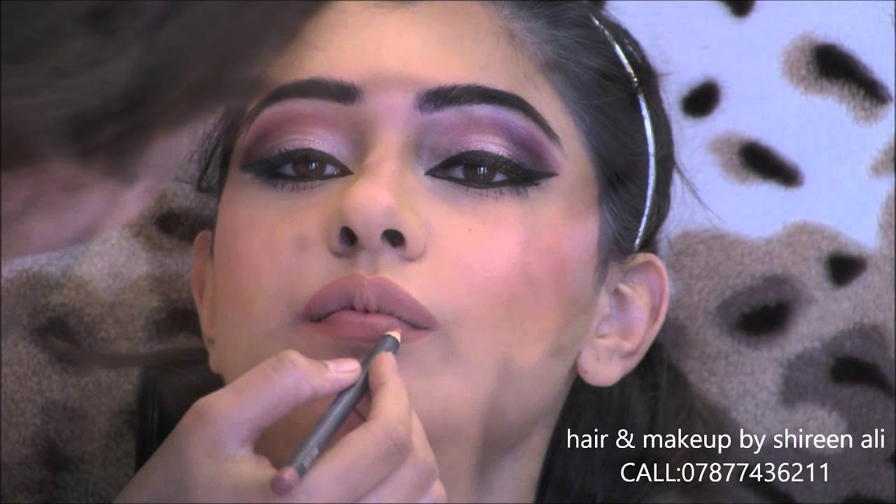 Makeup For Mehndi Night : Mehndi hair and makeup by shireen ali youtube