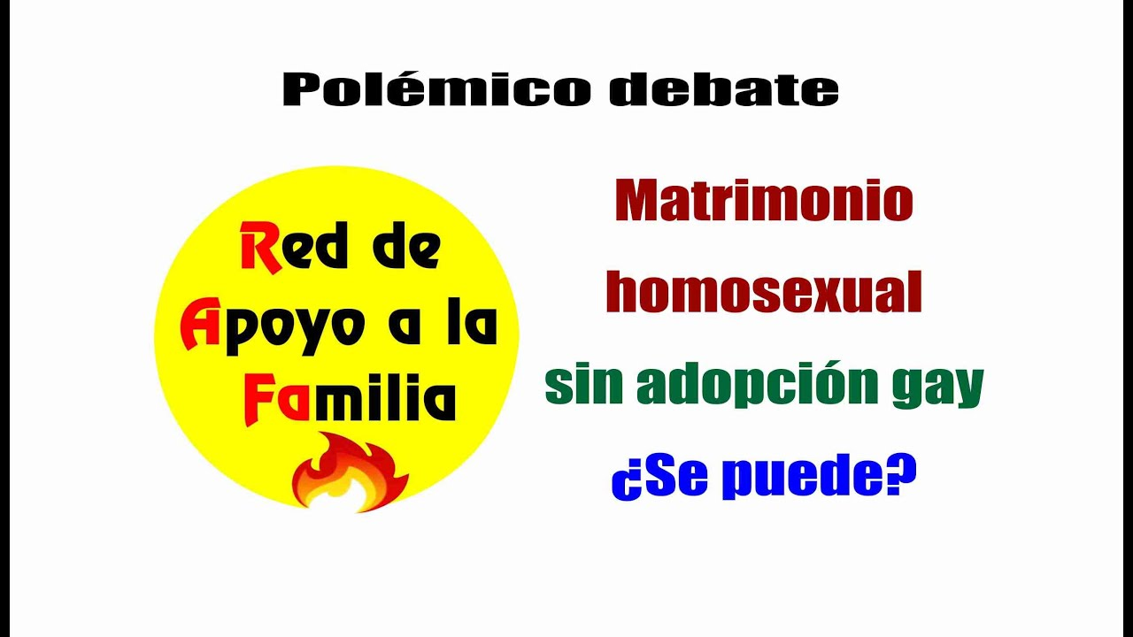 Debate acerca de la adopcion homosexual