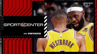 Previewing LeBron and Westbrook's usage ahead of the Lakers' season opener | SportsCenter