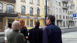 Отдых выходного дня. Прогулка по Москве. Доходный дом ныне жилой на Пречистенке, видео -2