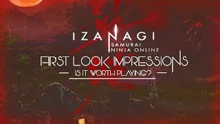 Izanagi Online - First Look Impressions - Is It Worth Playing?