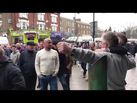 "Thumbnail: Millwall Fan Punches Tottenham Fan Because He Chants ""We All Hate Millwall""😂😱"