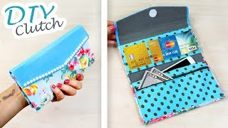DIY Purse Bag Woman Wallet & Pnone You Can Do Easy //Luxury Clutch Phone Wallet Female