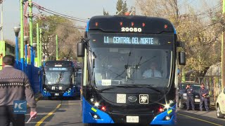 New Chinese trolleybuses helping make Mexico City cleaner