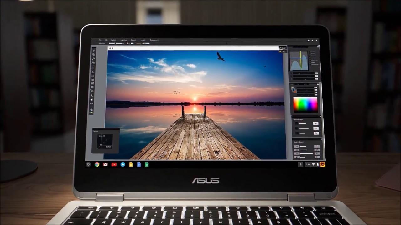 ASUS Chromebook Flip C302CA Simple Powerful Flippable