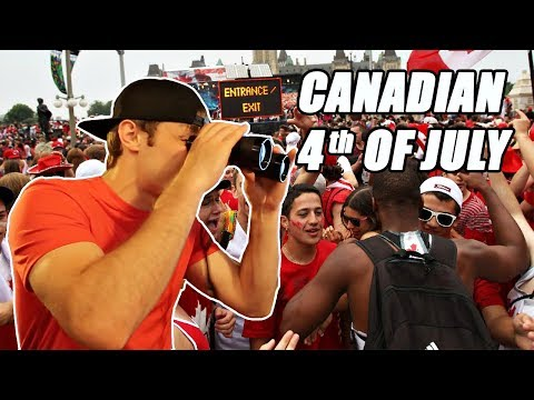 INSANE CANADIAN 4TH OF JULY!! (CANADA DAY)
