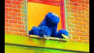 Sesame Street COOKIE MONSTER Teaches HOW TO MAKE COOKIES. Let