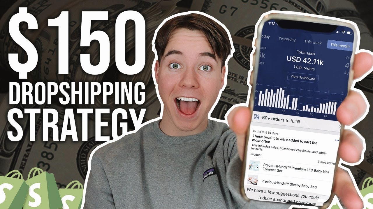 How To Start Shopify Dropshipping With $150 (From Scratch)