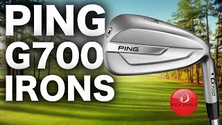 The most FORGIVING PING irons Ive hit - G700 Review
