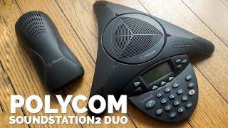 Giới thiệu điện thoại hội nghị Polycom SoundStation 2 Duo