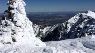 Summit of Mount Katahdin, 3/29/2015