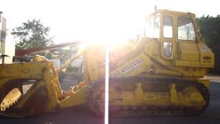 Komatsu D75 S track loader