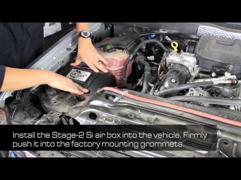 How to Install aFe POWER 11-16 GM Diesel Trucks V8-6.6L (td) LML Intake System (51-82322-E)