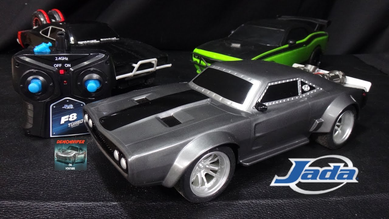 Fast Furious Dom S Ice Charger Remote Control Car Jada