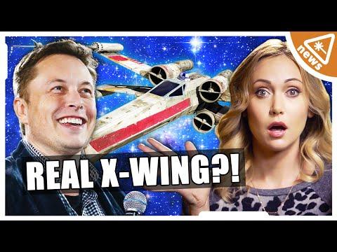 Elon Musk is making a Real X-WING?? (Nerdist News w/ Jessica Chobot)