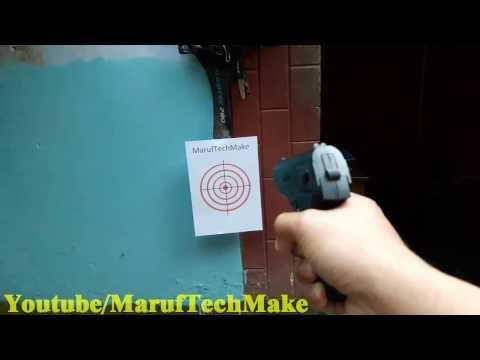 Toy Gun- Realistic CQ.P168 Revolver- Plastic Bullet Air Pistol Prop