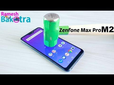 Asus Zenfone Max Pro M2 Screen Scratch Test Gorilla Glass 6