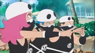 Kiawe & Ash VS Team Skull (Eng Dub)