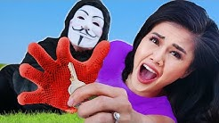 CHAD & VY vs Hacker for Safe House Location! Regina & Daniel Puppet Battle PZ Funf in Funny Moments