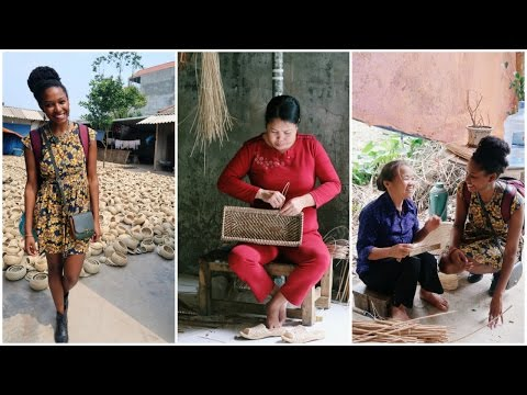 Travel Vietnam | Basket Weaving Village | charlycheer